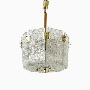 Lámpara colgante Mid-Century de Kalmar, años 50