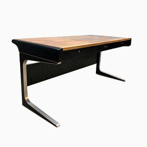 Mid-Century Büro-Schreibtisch von Osvaldo Borsani für Tecno