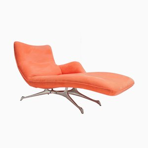 Vintage Chaise Lounge by Vladimir Kagan