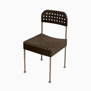 Vintage Box Chairs by Enzo Mari for Castelli, Set of 6