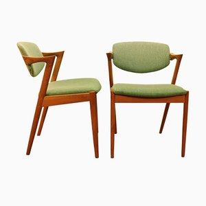 Z-Chairs von Kai Kristiansen, 1950er, 2er Set