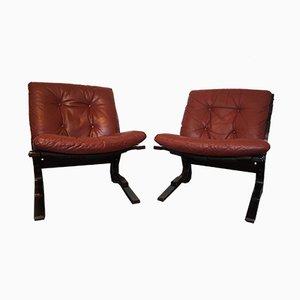 Norwegische Pirate Chairs von Elsa & Nordahl Solheim für Rykken, 1970, 2er Set
