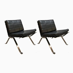 Vintage 1600 Lounge Chairs by Hans Eichenberger for Girsberger, Set of 2