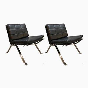 Vintage 1600 Sessel von Hans Eichenberger für Girsberger, 2er Set