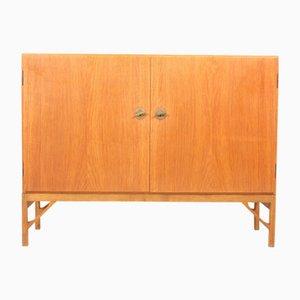 Mueble danés de roble de Børge Mogensen para FDB, años 50