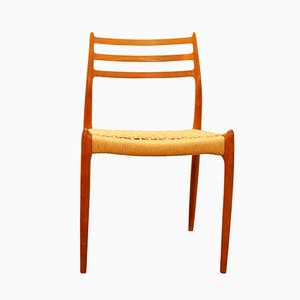 Paper Cord No.78 Chair by Niels Otto Møller, 1950s
