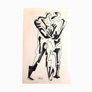 Gravure à l'Eau-Forte Ultimate Step par Ossip Zadkine, 1966