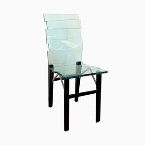 Skulpturaler Stuhl von Luigi Serafini für Tonelli, 1992