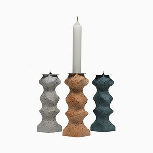 Aeolian Candlesticks by Gavin Stanley Keightley, 2018, Set of 3