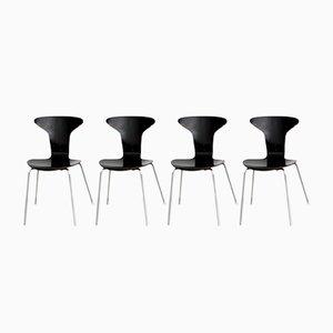 Mosquito Stühle von Arne Jacobsen für Fritz Hansen, 1963, 4er Set