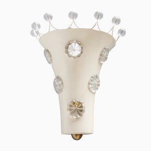 Vintage Floral Wall Light by Emil Stejnar for Rupert Nikoll