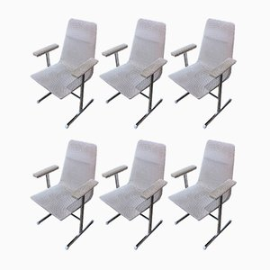 Lisse Dining Chairs by Tim Bates for Pieff, 1970s, Set of 6