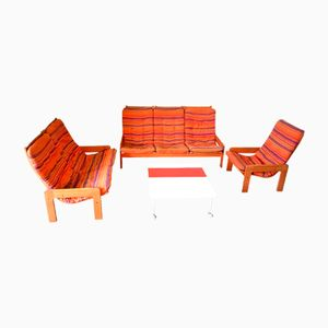 Vintage Living Room Set by Yngve Ekstrom for Swedese