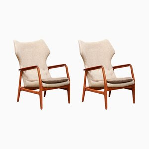 Vintage Easy Chairs by Aksel Bender Madsen for Bovenkamp, Set of 2