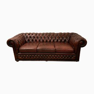 Vintage Chesterfield 3-Seater Sofa, 1980s