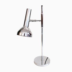 Vintage Chrome Desk Lamp by Marcello Fantoni for Cosack
