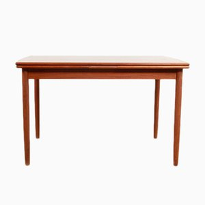 Vintage Danish Teak Extendable Dining Table