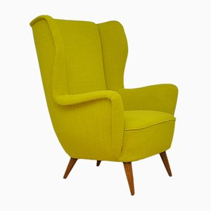 Vintage Wingback Chair, 1950s