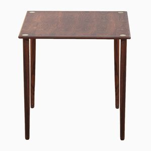 Scandinavian Rosewood Side Table, 1960s