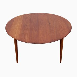 FD 515 Solid Teak Coffee Table by Hvidt & Mølgaard-Nielsen for France and Søn, 1950s