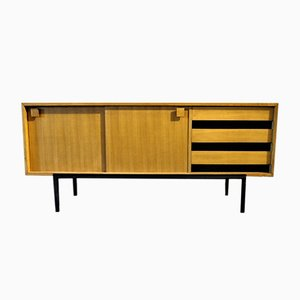 Vintage French Wooden Sideboard, 1950s