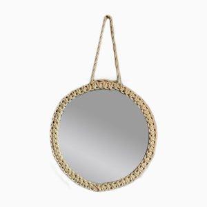 Round French Vintage Mirror