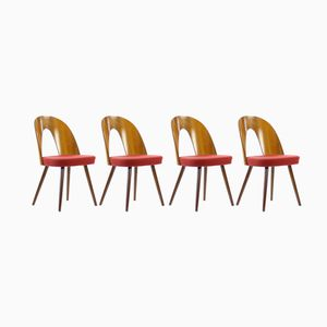Czechoslovakian Chairs by Antonin Suman for Tatra, 1960s, Set of 4