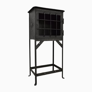 Antique Industrial Cabinet