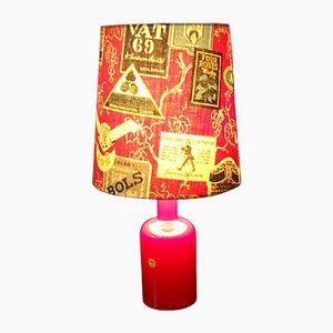 Lámpara de mesa vintage de Holmegaad, años 60