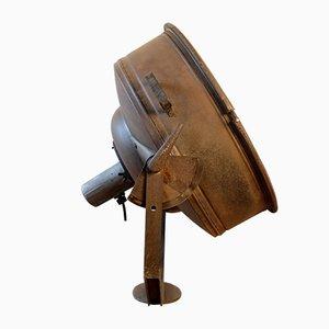 Großer industrieller Vintage Scheinwerfer, 1940er
