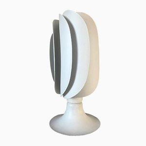Wendelförmige französische Vintage Lampe