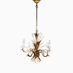 Lámpara de araña Florentiner de Hans Kögl, años 70