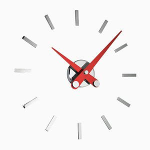 Puntos Suspensivos R 12ts Clock by Jose Maria Reina for NOMON