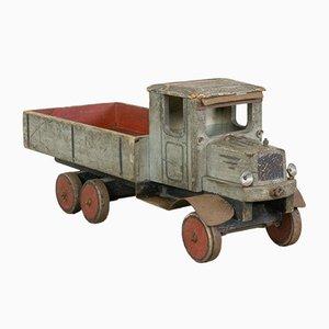 Vintage Kleintransporter Spielzeug aus Holz