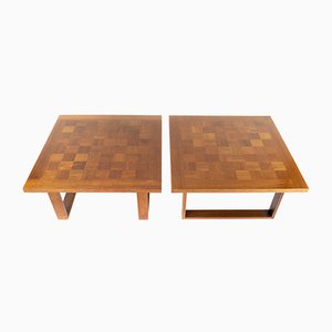 Danish Coffee Tables by Poul Cadovius for Cado, 1960s, Set of 2