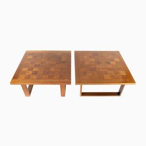 Tables Basses par Poul Cadovius pour Cado, Danemark, 1960s, Set de 2