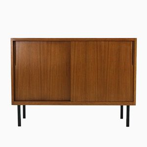 Small Mid-Century Walnut Sideboard, 1950s