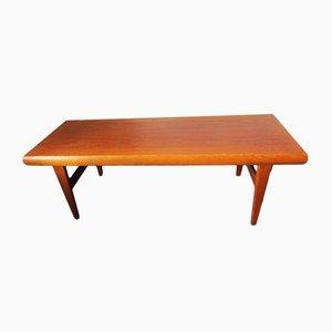 Table Basse Vintage en Teck par Johannes Andersen pour Trioh, 1960s
