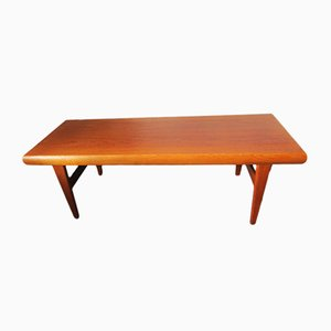Vintage Teak Coffee Table by Johannes Andersen for Trioh, 1960s