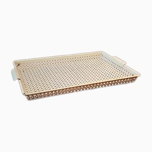 Perforated Metal Tray by Mathieu Matégot for Atelier Matégot, 1950s