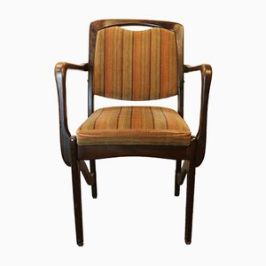 Teak Multicolored Chairs from Spahn Stadtlohn, 1960s, Set of 6