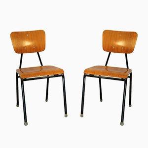Vintage Schulstühle, 1960er, 2er Set