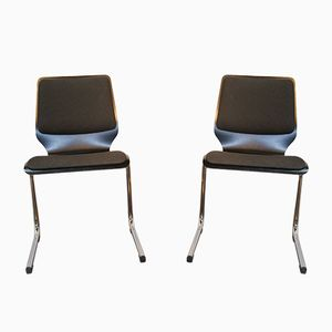Chaises de Bureau de Stechert, 1960s, Set de 2