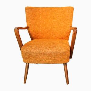 Vintage Danish Wooden Lounge Chair, 1960s