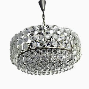 Vintage Lead Crystal Chandelier from Bakalowits