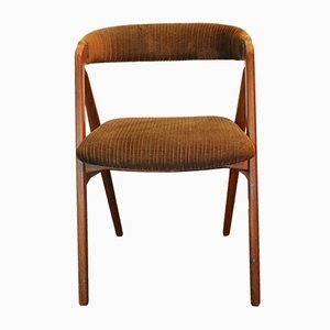 Dänischer Vintage Beistellstuhl aus Holz
