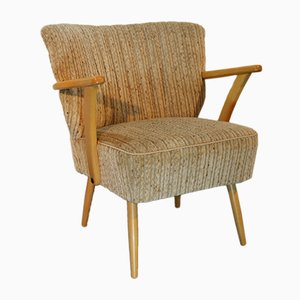 Vintage Danish Wooden Lounge Chair, 1960s