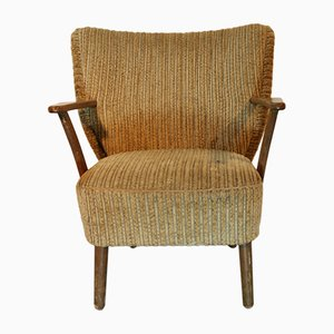 Vintage Danish Upholstered Lounge Chair