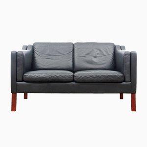 Dänisches 2-Sitzer Sofa, 1970er