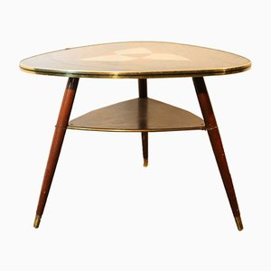 Table Basse Triangulaire en Formica, 1960s